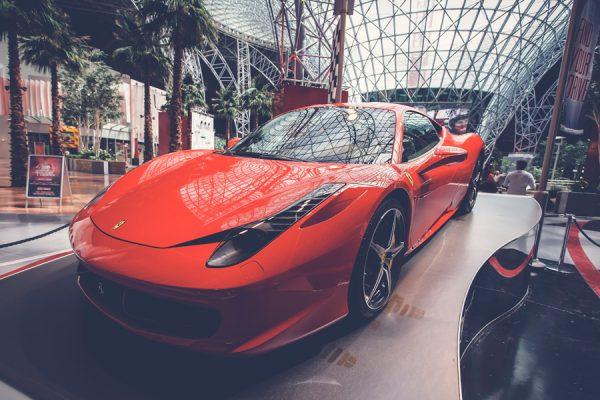 Italienische Spitzenmotoren Ferrari – Maserati – Ducati